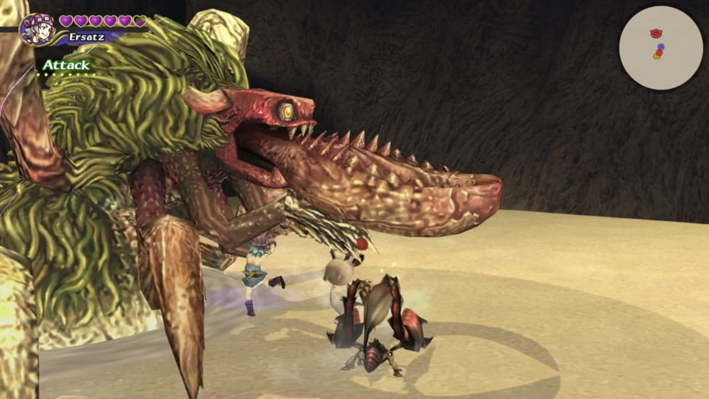 Final Fantasy Crystal Chronicles: Remastered Edition - Antlion - Use physical attacks