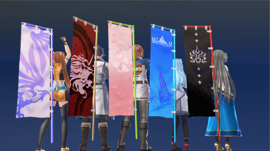 The Legend of Heroes: Hajimari no Kiseki - Banner Set