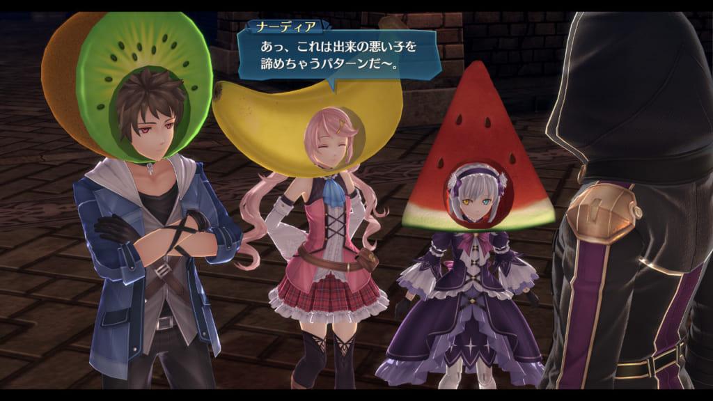 The Legend of Heroes: Hajimari no Kiseki - Tropical Fruits Head Set