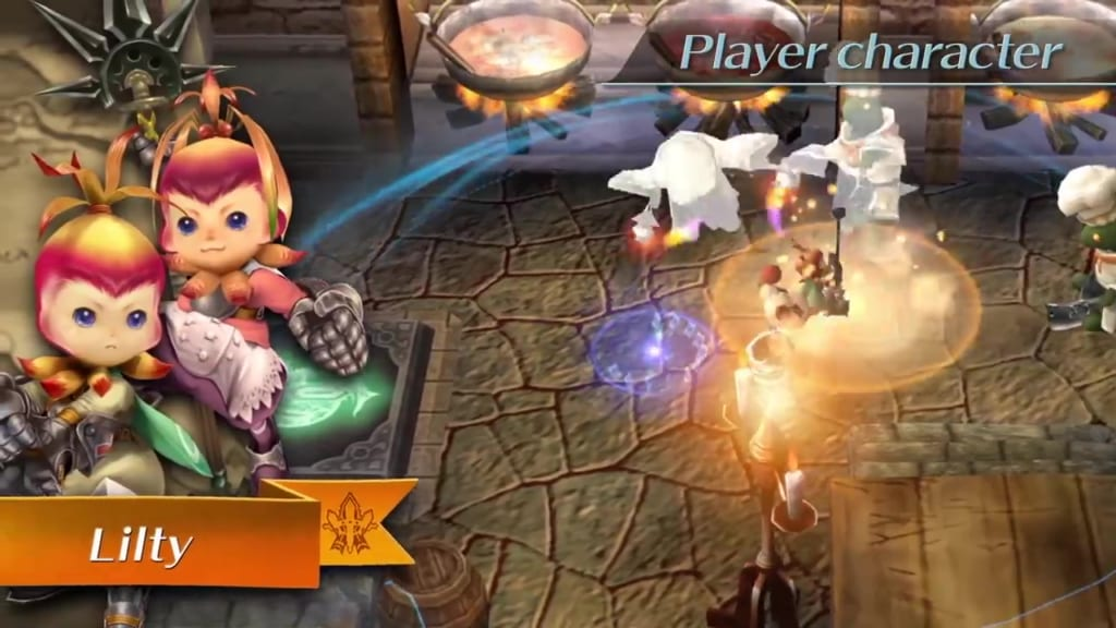 Final Fantasy Crystal Chronicles: Remastered Edition - Lilty Race