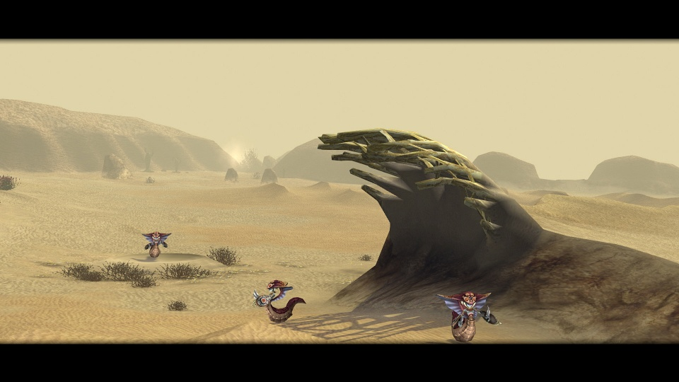 Final Fantasy Crystal Chronicles: Remastered Edition - Lynari Desert
