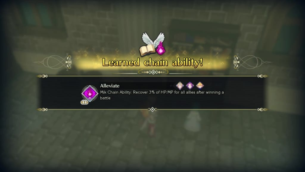 Trials of Mana Remake - Chapter 5: Holy City of Wendel Revisited - Alleviate Chain Ability