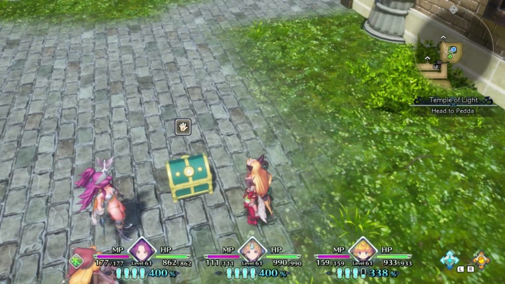 Trials of Mana Remake - Chapter 5: Holy City of Wendel Revisited - Chest Location 1