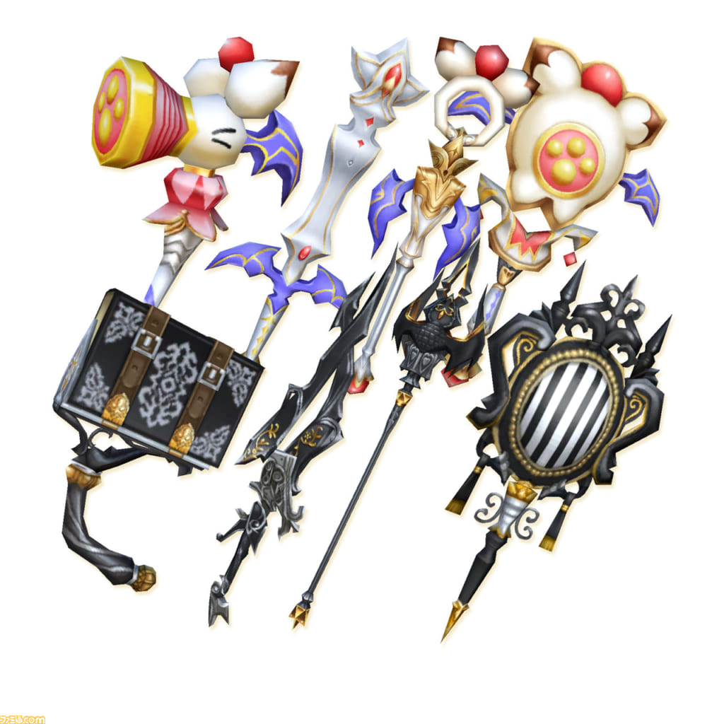 Final Fantasy Crystal Chronicles: Remastered Edition - Special Weapon Set
