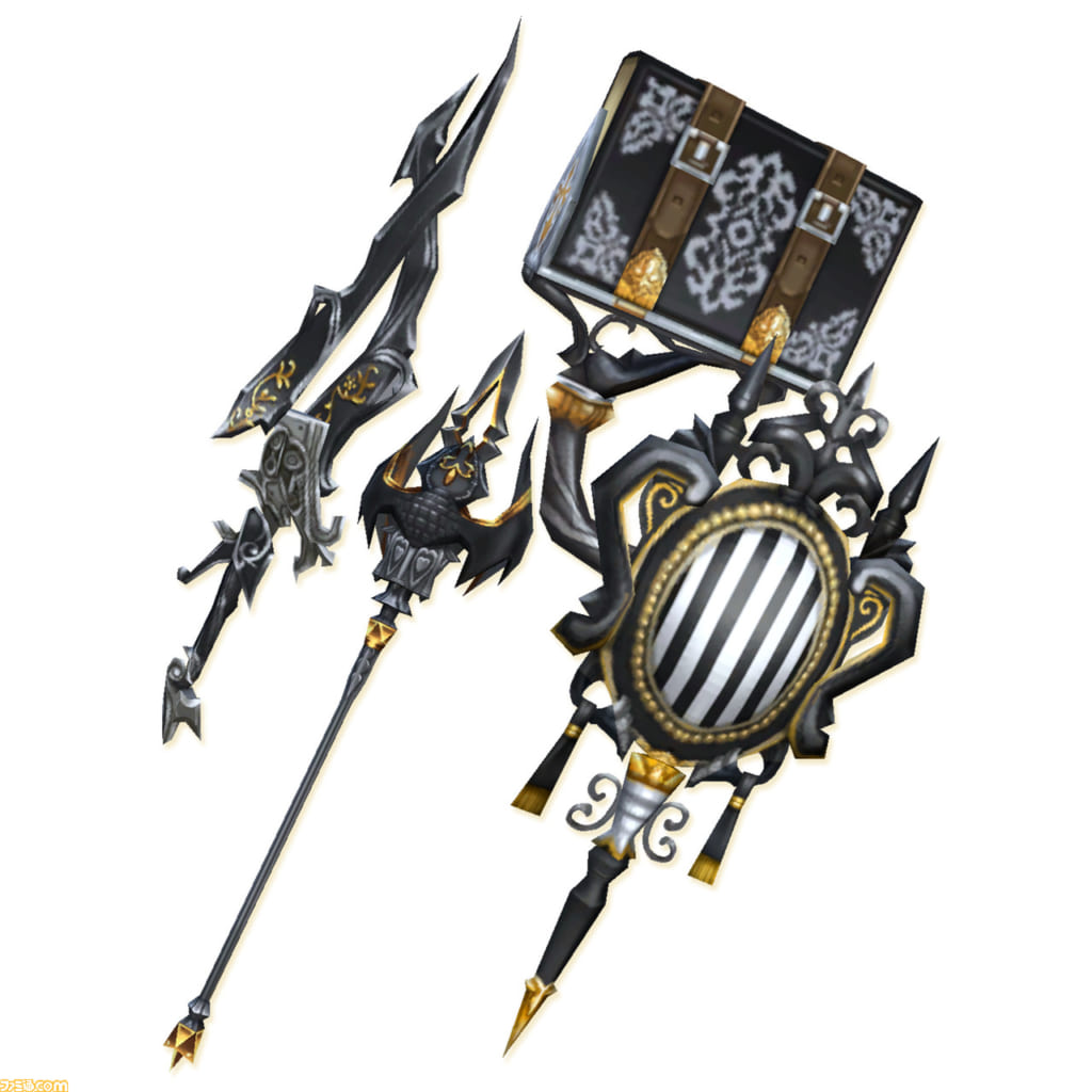 Final Fantasy Crystal Chronicles: Remastered Edition - Ancient Weapon Set
