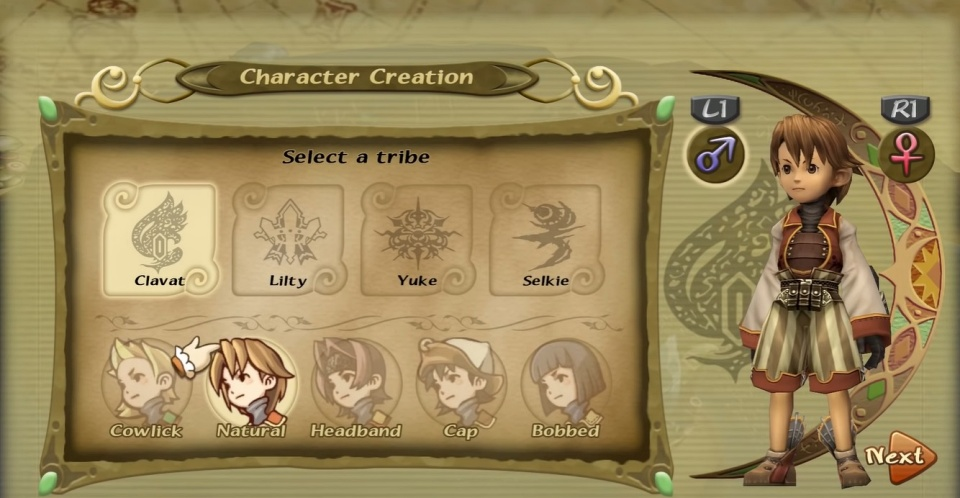 Final Fantasy Crystal Chronicles: Remastered Edition - Choosing a Tribe