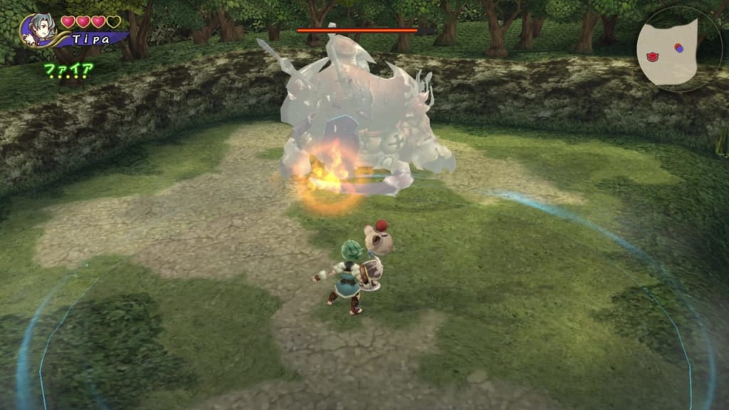 Final Fantasy Crystal Chronicles: Remastered Edition - Giant Crab Boss - Use fire magic