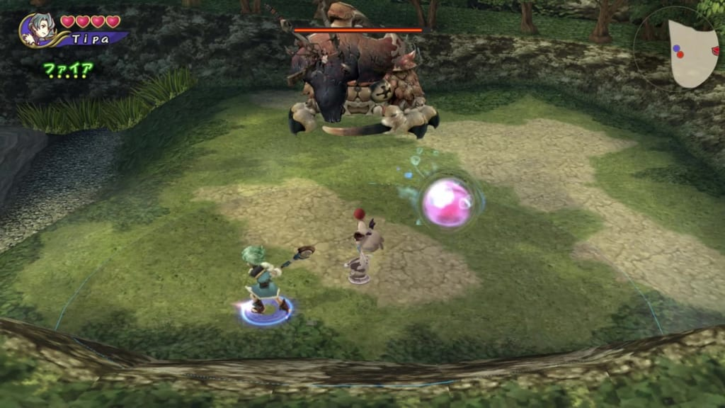 Final Fantasy Crystal Chronicles: Remastered Edition - Giant Crab Boss - Move around the field