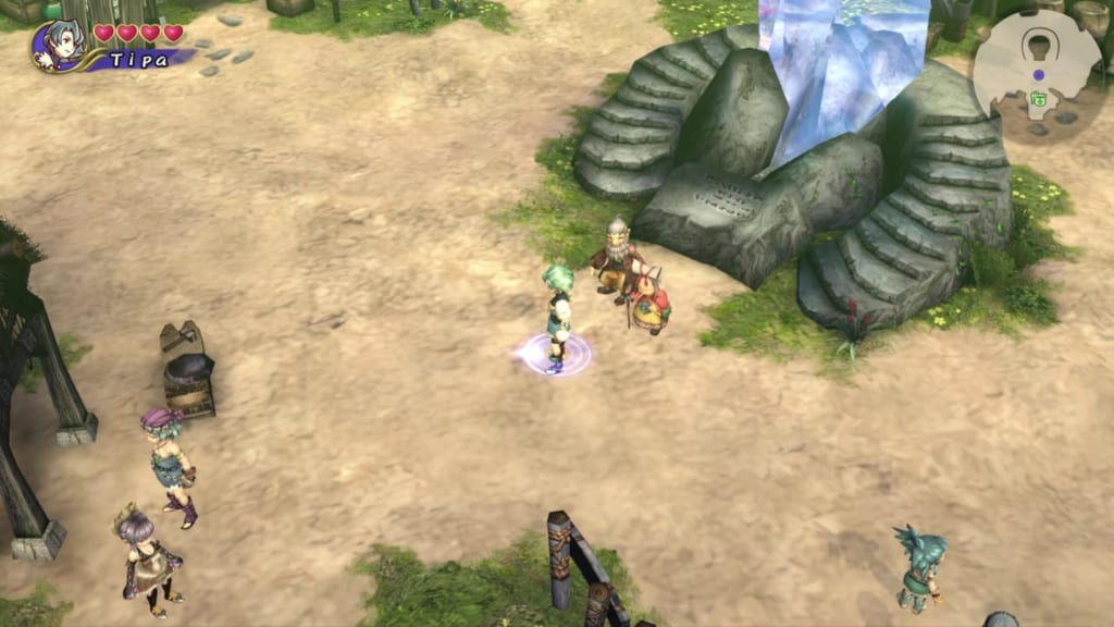 Final Fantasy Crystal Chronicles: Remastered Edition - Tipa Town