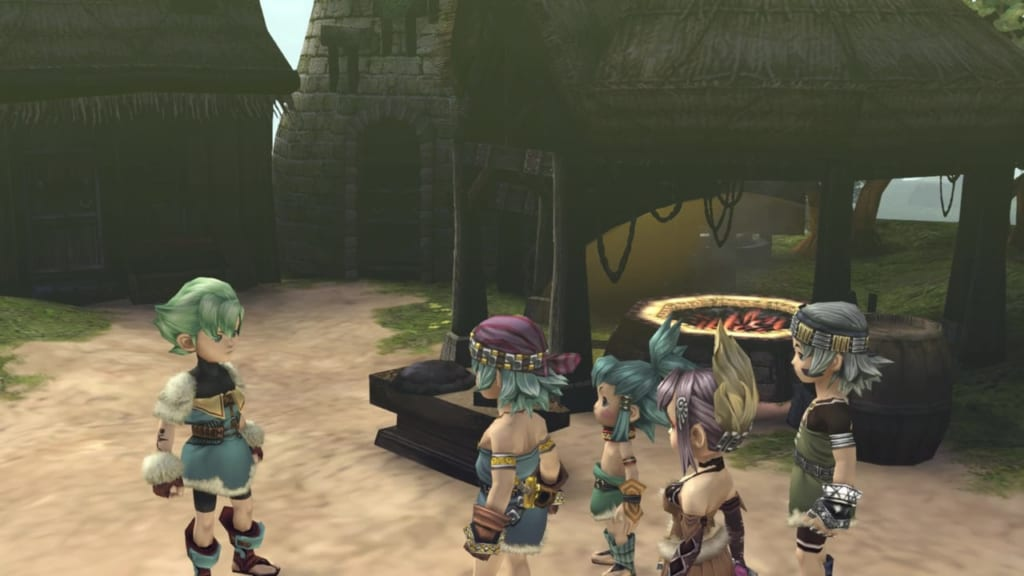 Final Fantasy Crystal Chronicles: Remastered Edition - Tipa - Port Tipa Walkthrough