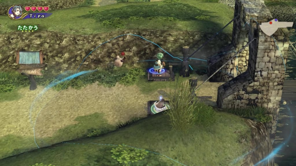 Final Fantasy Crystal Chronicles: Remastered Edition - River Belle Path - West Drawbridge