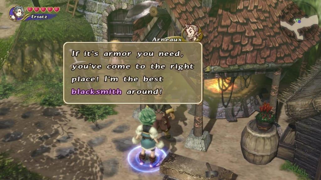 Final Fantasy Crystal Chronicles: Remastered Edition - Marr's Pass - Armor Blacksmith