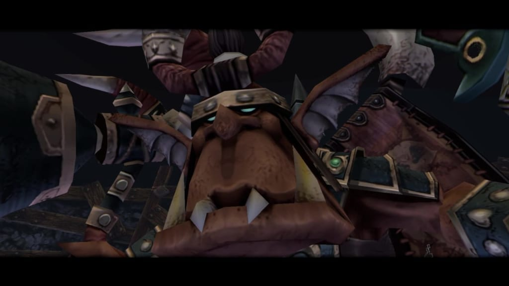 Final Fantasy Crystal Chronicles: Remastered Edition - Orc King Boss