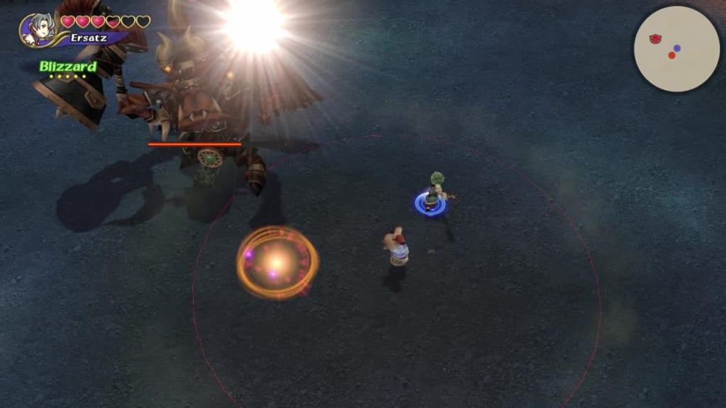 Final Fantasy Crystal Chronicles: Remastered Edition - Orc King - Avoid Magic Circle