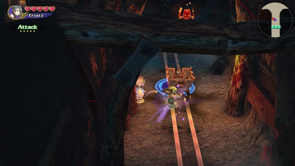 Final Fantasy Crystal Chronicles: Remastered Edition - Mine of Cathuriges - Use Focus Attack