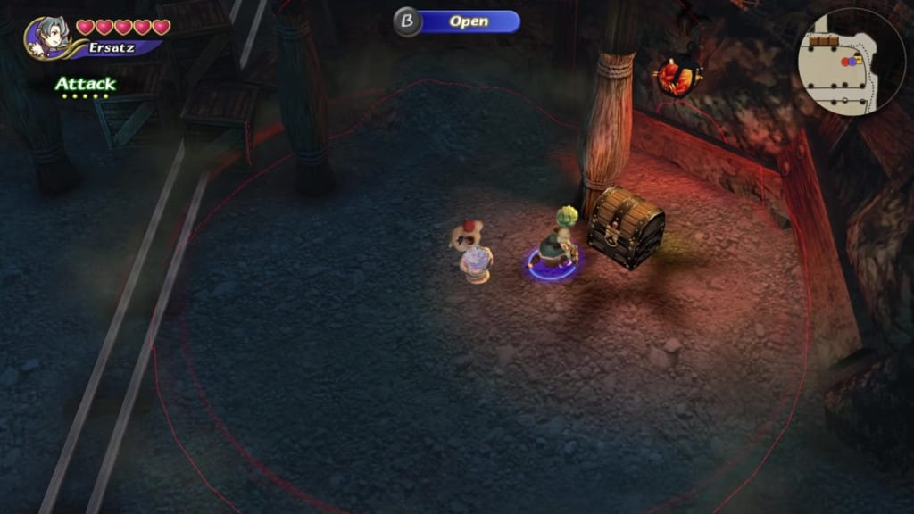 Final Fantasy Crystal Chronicles: Remastered Edition - Mine of Cathuriges - Chest Location 2