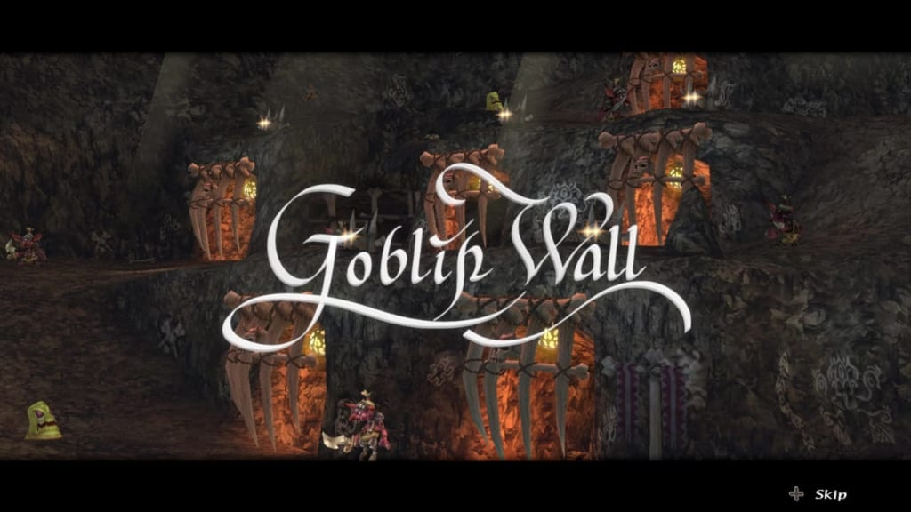 Final Fantasy Crystal Chronicles: Remastered Edition - Goblin Wall Walkthrough