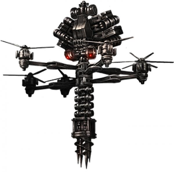 13 Sentinels: Aegis Rim - Drill Fly Kaiju