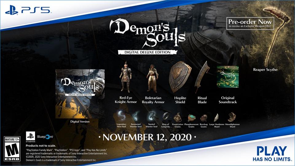 Demon's Souls Remake - Digital Deluxe Edition