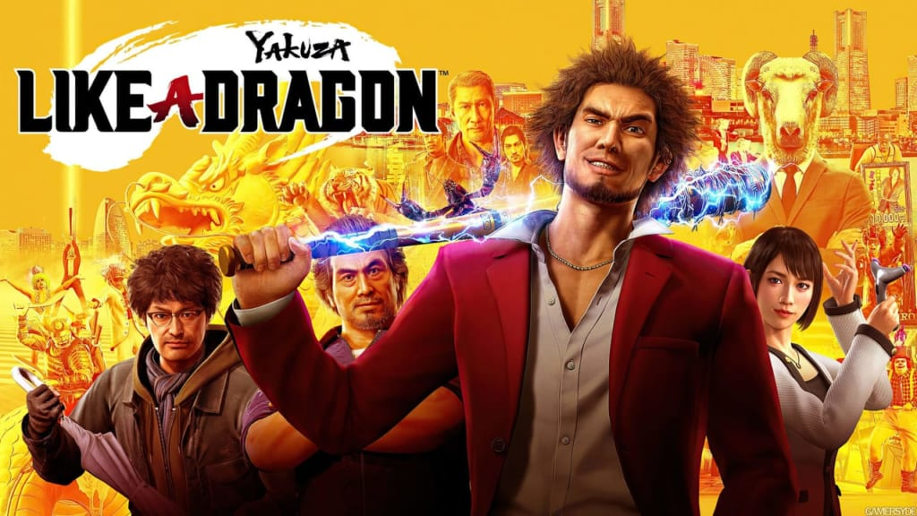 Yakuza: Like a Dragon - The Game Awards 2020 Best Role Playing