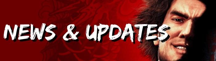 Yakuza: Like a Dragon - News and Updates Banner