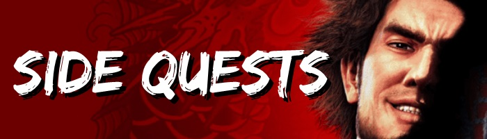 Yakuza: Like a Dragon - Side Quests Banner