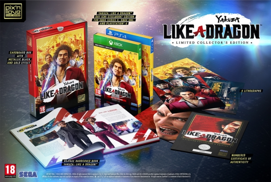 Yakuza: Like a Dragon - Limited Collector's Edition