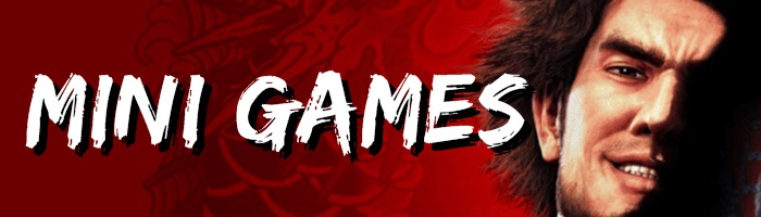 Yakuza: Like a Dragon - Mini Games Banner