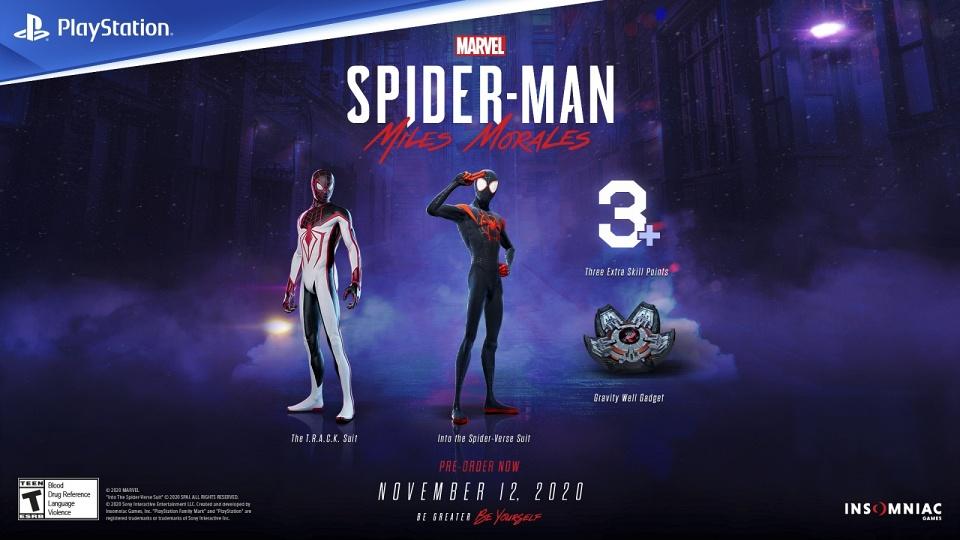 Marvel's Spider-Man: Miles Morales - Pre-order Bonuses