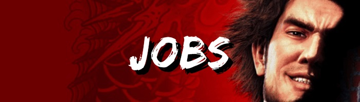 Yakuza: Like a Dragon - Jobs Banner