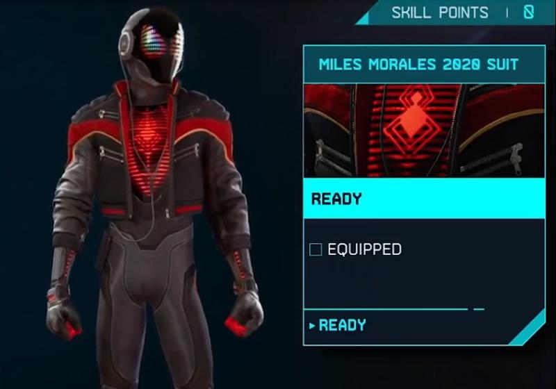 Marvel's Spider-Man: Miles Morales - Miles Morales 2020 Suit