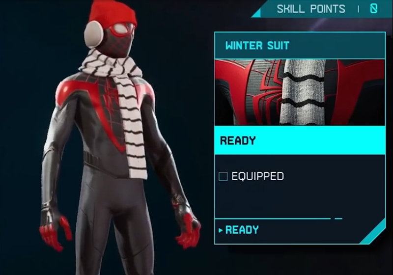 Marvel's Spider-Man: Miles Morales - Winter Suit