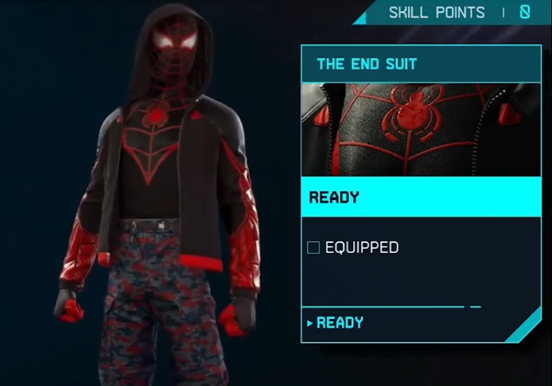 Marvel's Spider-Man: Miles Morales - The End Suit