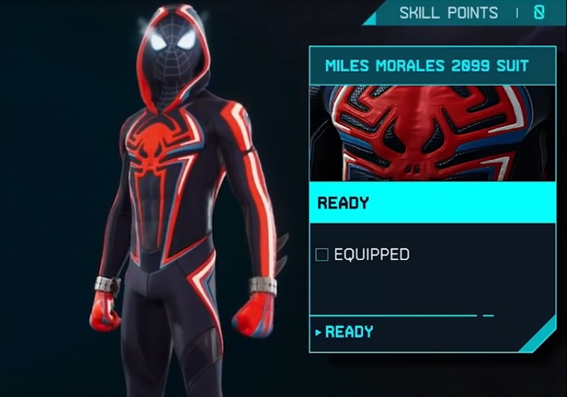 Marvel's Spider-Man: Miles Morales - Miles Morales 2099 Suit
