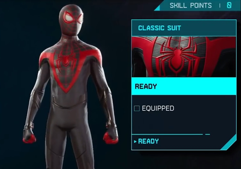 Marvel's Spider-Man: Miles Morales - Classic Suit