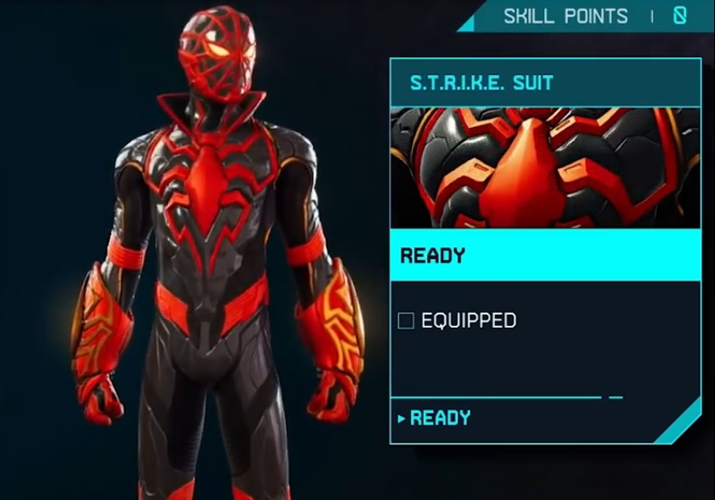 Marvel's Spider-Man: Miles Morales - STRIKE Suit