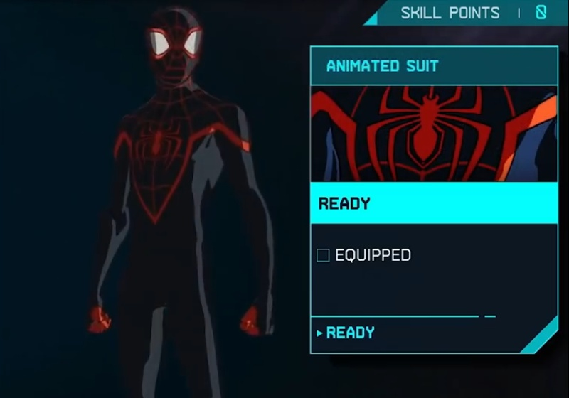 Marvel's Spider-Man: Miles Morales - Animated Suit