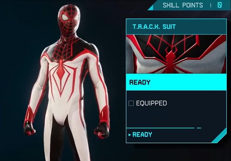 Marvel's Spider-Man: Miles Morales - TRACK Suit