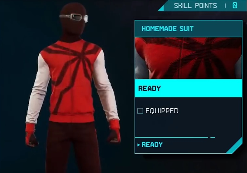 Marvel's Spider-Man: Miles Morales - Homemade Suit