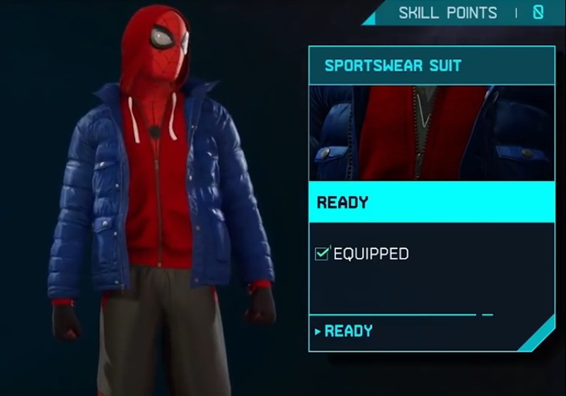 Marvel's Spider-Man: Miles Morales - Sportswear Suit
