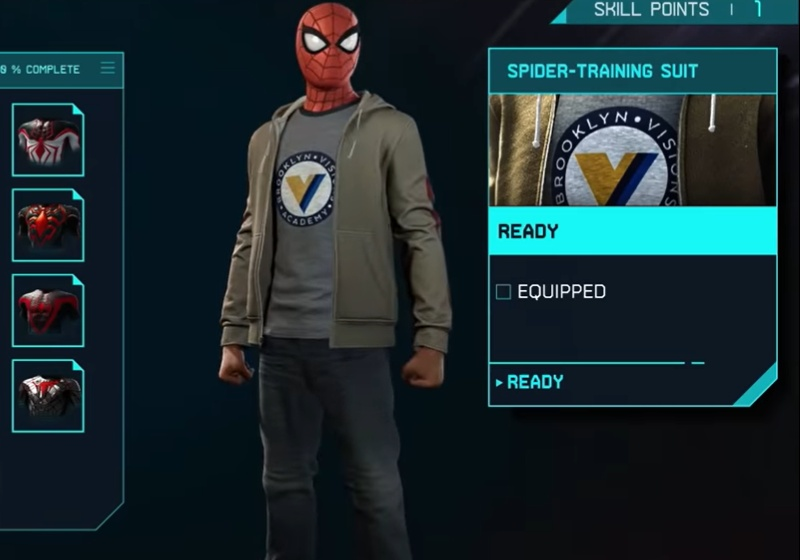 Marvel's Spider-Man: Miles Morales - Spider Training Suit