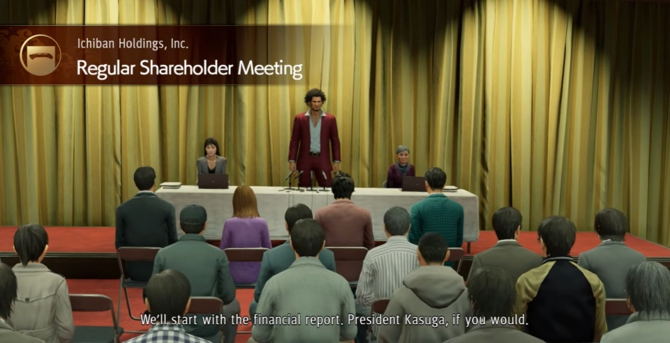 Yakuza: Like a Dragon - Regular Shareholder Meeting Guide