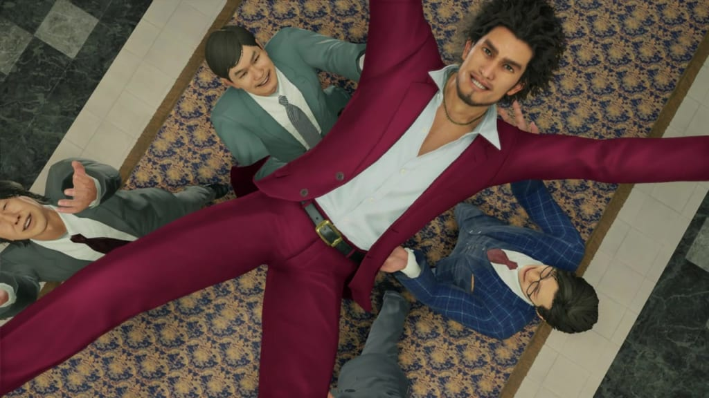Yakuza: Like a Dragon - Ounabara Vocational School Exam Pass