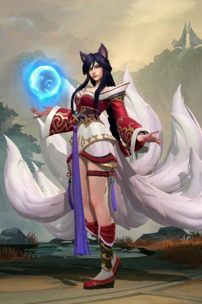 League of Legends: Wild Rift - Ahri Default Champion Skin