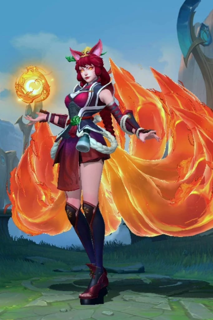 League of Legends: Wild Rift - Ahri Foxfire Champion Skin
