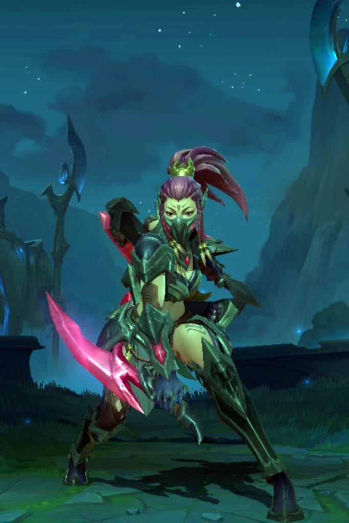 League of Legends: Wild Rift - Akali Headhunter Champion Skin