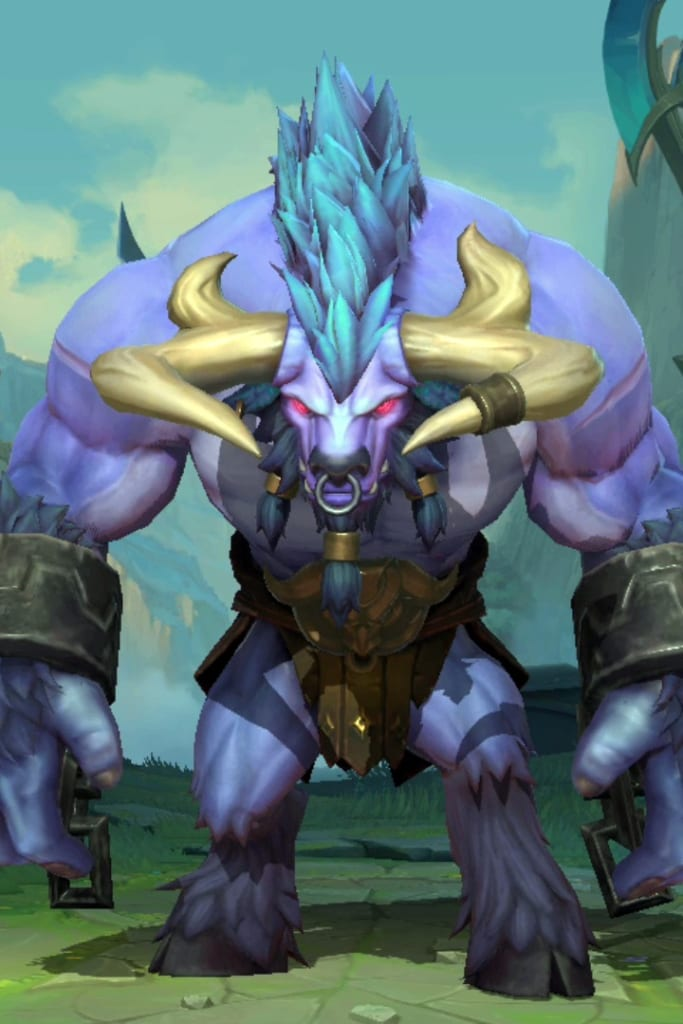 League of Legends: Wild Rift - Alistar Default Champion Skin