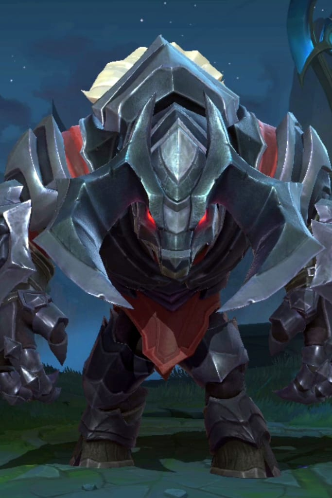 League of Legends: Wild Rift - Alistar Marauder Champion Skin