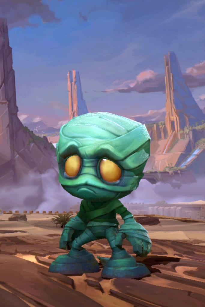 League of Legends: Wild Rift - Amumu Default Champion Skin