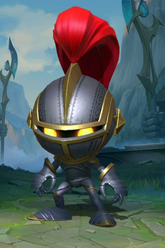 League of Legends: Wild Rift - Amumu Little Knight Champion Skin